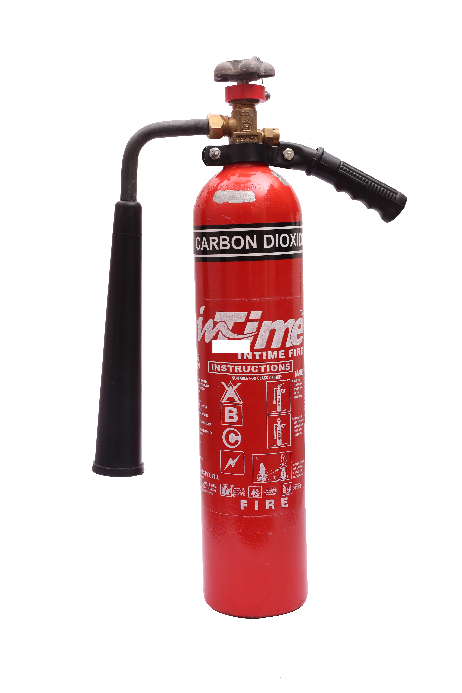 Aluminium Carbon Dioxide Type Fire Extinguisher