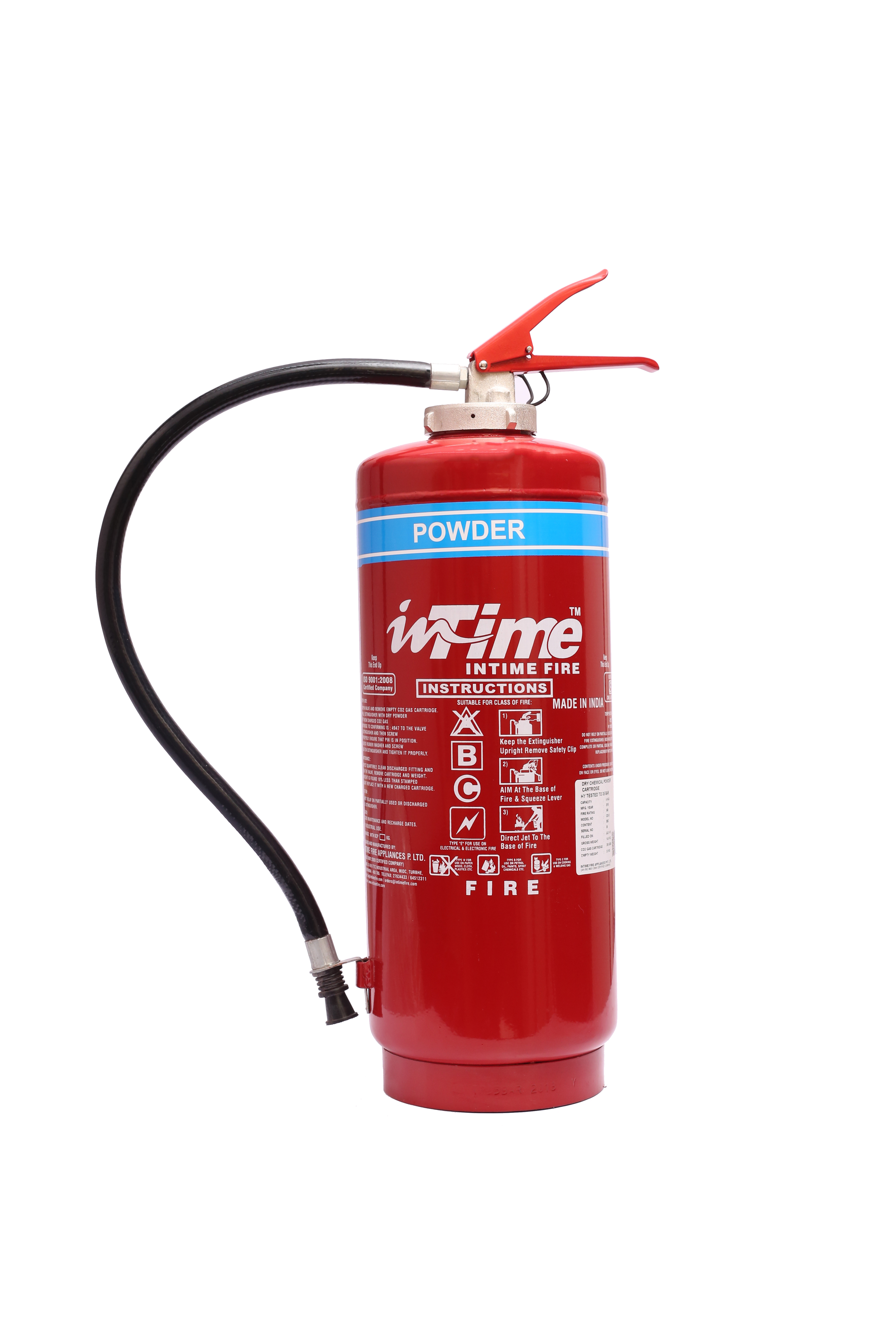 Cartridge Operated Powder Fire Extinguishers
