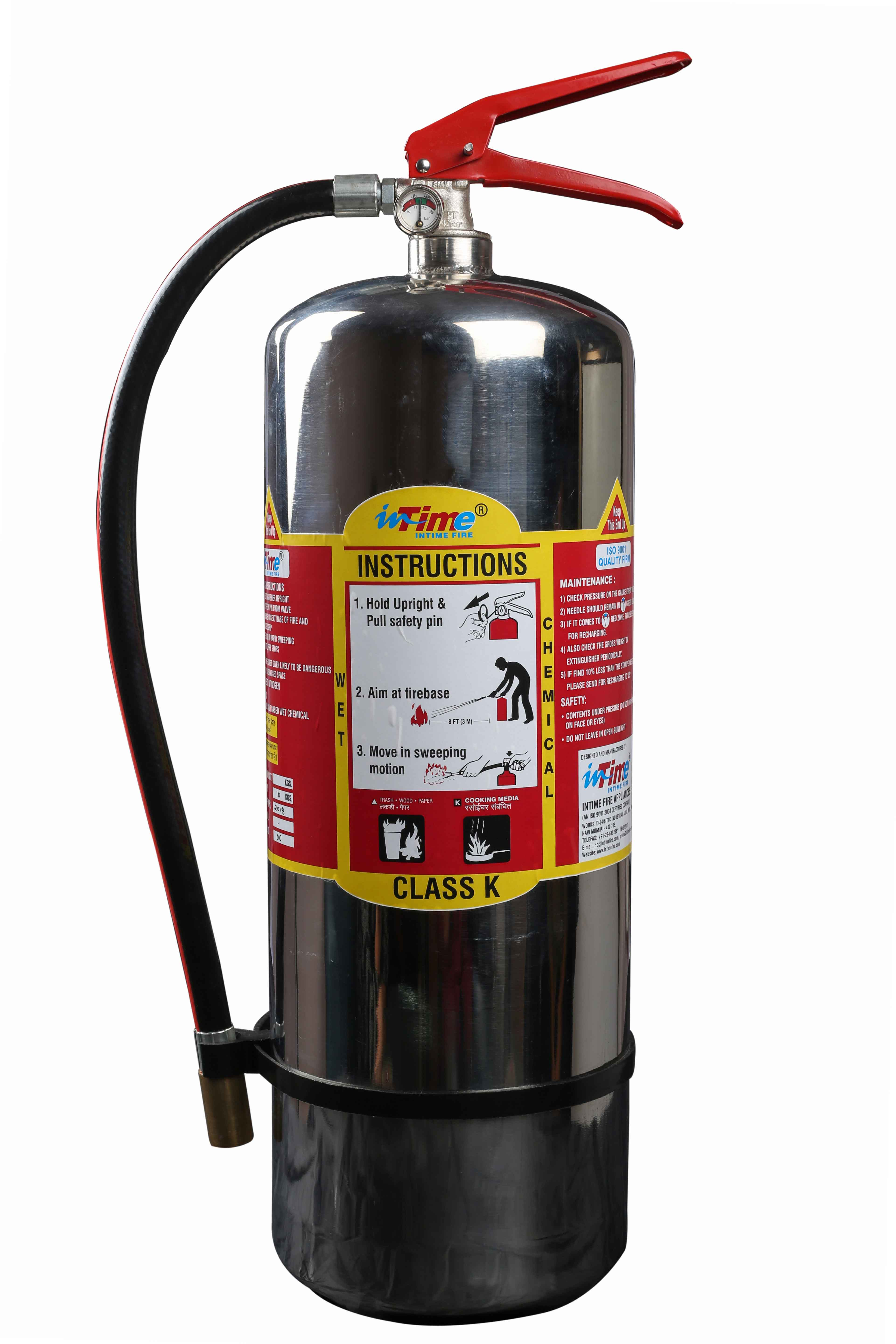 Fire Extinguishers For Kitchen Fire